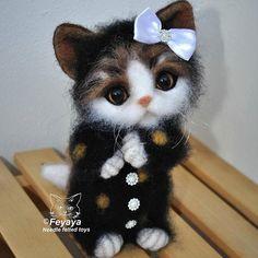 WEBSTA @ feyaya1 - Котенок Кити, пижамная вечеринка продолжается.