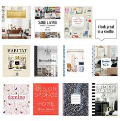 13 Books Every Decor Lover Needs Self Styled, Style Tile, Shelfie, Any Book, Book Design, Gallery Wall, Frame, Books, Home Decor