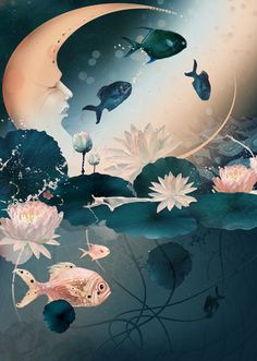 Fantastical Aquatic Artistry : Tatiana Kazakova