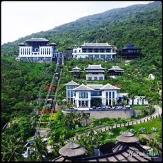 Getaway from it all Aerial Images, Southeast Asia, Vietnam, Destinations, Mansions, House Styles, Beautiful, Home, Manor Houses