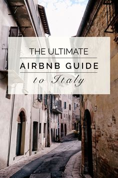 The Ultimate Travel Guide to Italy #travel #italy #airbnb #tuscany  ✈✈✈ Don't miss your chance to win a Free Roundtrip Ticket to Florence, Italy from anywhere in the world **GIVEAWAY** ✈✈✈ https://thedecisionmoment.com/free-roundtrip-tickets-to-europe-italy-florence/