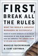Book image: First, Break All the Rules