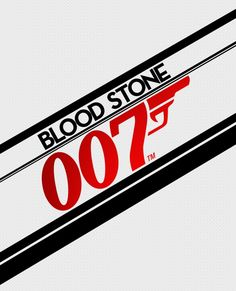 Beautiful James Bond Blood Stone artwork uploaded by IGC - Bloodstone Logo Nintendo Ds, Super Nintendo, Video Game Logos, Video Games, Playstation, Ps3 Games, Blood Stone, James Bond, Teen