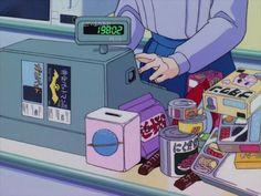 Imagem de anime, aesthetic, and food