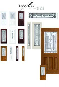 Masonite Naples Glass | Craftsman Style Doors | Pinterest | Naples ...