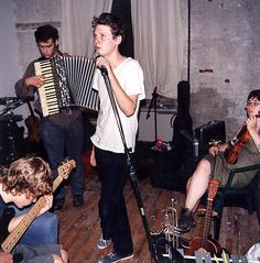 Click through: Beirut's first show, how they botched it, and how Zach Condon founded it. <3