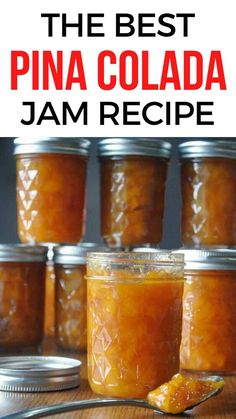 If you love pina colada check out this jam recipe with zucchini. This easy jam recipe is perfect for your english muffins breakfast toast. #foodtalkdaily