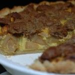 Sour Cream Apple Pie with Streusel Crumble Topping