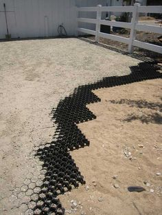 EquiTerr paddock and stall flooring promotes excellent drainage and provides a completely stable, level and dry surface for your horses' good health