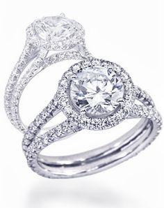Wedding rings circle diamond halo engagement new ideas Round Diamond Ring, Diamond Wedding Rings, Halo Diamond, Round Halo Engagement Rings, Halo Rings, Trendy Wedding, Wedding Ideas, Dream Wedding, Wedding Things
