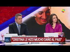 """Amalia Granata: """"Cristina debería haberse retirado y Macri me da temor"""" Tv, News, Television Set, Television"""