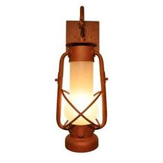 The Decataur Hanging Sconce is paying homage to the hard working men and women of the early railroad lines.