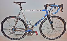A #Colnago model: Master Extra Light, steel racing bicycle