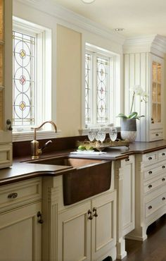 Sink is gorgeous ~ Houzz.com
