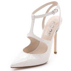 "KORS By Michael Kors - Bridal ""Optic"" White Pointed Toe Pumps Heels - 50% DISCOUNT"