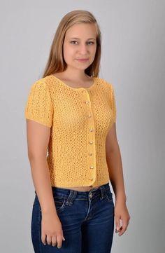 Pullover & Pullunder - Handgestrickter Pullover - ein Designerstück von derKommode bei DaWanda