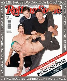 Capas RS Brasil 60 - Red Hot Chili Peppers