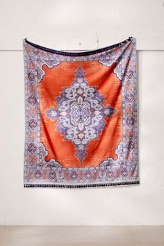 Home Décor: Art, Wall Hangings, + Urban Outfitters Tapestry, Boho Aesthetic, Border Design, Vintage Looks, Wall Prints, Picnic Blanket, Bohemian Rug, Textiles, Bows