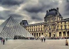 Louvre Paris dia