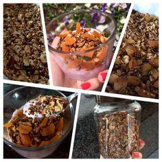 Granola de quinoa — Nutricionista Márcia Freitas