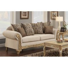 Astoria Grand Duclos Sofa Upholstery Color: