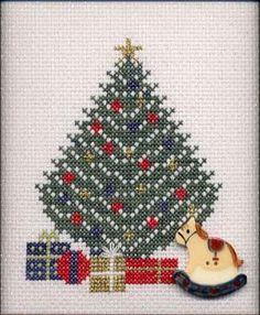 Christmas Morning cross stitch