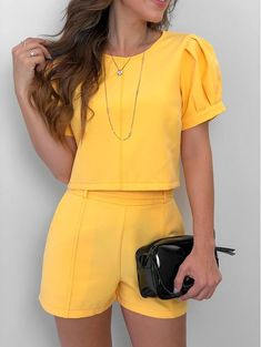 New party outfit frauen shorts Ideas Mode Outfits, Short Outfits, Summer Outfits, Fashion Outfits, Classy Outfits, Casual Outfits, Casual Wear, Casual Dresses, Love Fashion