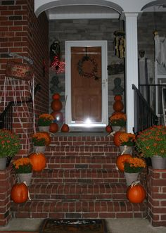 Fall / Halloween Front Porch