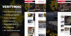 VerityMag  Creative News/Magazine Joomla Template