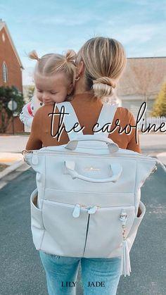 Best Backpack Diaper Bag, Cute Diaper Bags, Large Diaper Bags, Diaper Bags For Girls, Baby Momma, Cute Baby Girl, Luxury Diaper Bag, Lily Jade Diaper Bag, Leather Diaper Bags