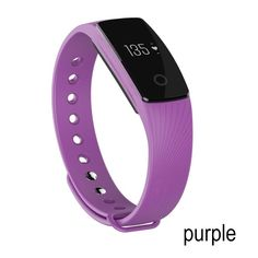Nicequip TM Heart Rate Monitor,Bluetooth Smart Bracelet Sleep/Activity Tracker/Calorie Counter Running Timer Smart Watch Health Fitness Tracker for Android iOS Smartphone Purple) Tracker Fitness, Fitness Tracker Bracelet, Waterproof Fitness Tracker, Fitness Gear, Wrist Watch Phone, Watch For Iphone, Iphone 6, Wearable Device, Wearable Technology