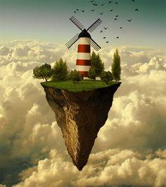el mañana windmill land