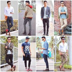 David John Guison (Facebook page photo) LookBook - http://davidguison.com/ Philippines Pinoy Fashion for men. 8 looks, 8 characters