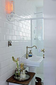 vintage bathroom #decor #banheiros #bathrooms
