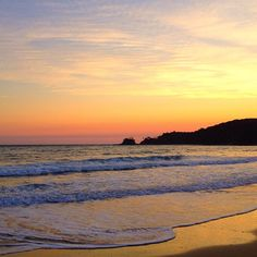Sunrise - Byron Bay - Australia - feels like you could just about put your feet in that water......beautiful