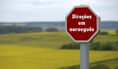 Aprenda como pedir e fornecer direções básicas a alguém em norueguês.