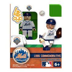 OYO Baseball MLB Building Brick Minifigure 1986 Home NY Mets New York Mets