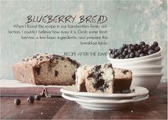 Blueberry Bread | FOLK