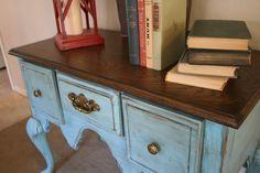 Oak Desk Re-do: Part 2