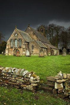 Ancient Church, Northumberland, England