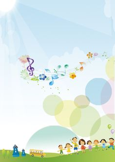 ผู้เข้าร่วมงาน ออกแบบ การตกแต่ง ศิลปะ พื้นหลัง Kids Background, Banner Background Images, Powerpoint Background Design, Background Design Vector, Cute Wallpaper Backgrounds, Cute Wallpapers, Music Notes Decorations, Photo Frames For Kids, Teacher Cartoon
