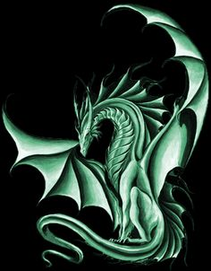"""Green dragons are...how do I put it, kindly? Eager, loving, willing, too friendly for their own good...""  Debera, rider of green Murath in Red Star Rising/Dragonseye"