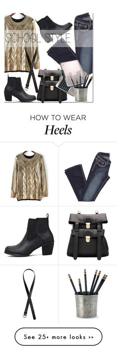 """school style"" by mirisproleca on Polyvore featuring H&M, Match, StreetStyle and school"