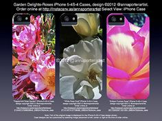 Garden Delights-Roses iPhone Cases #design copyright 2012 @annaporterartist from original digital photographs by Anna Porter Artist on #Instacanv.as. $39.95 each. Order online at:   http://instacanv.as/annaporterartist  #iPhone5case #iPhone4Scase #iPhone4case #Apple #iPhoneaccessory #art #fineartphotography #designer #fashion #accessory  #gifts #giftsunder40dollars #giftsunder40bucks #artist #annaporterartist #annaporterart #annaporter