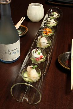 Mixed Seafood & Sake