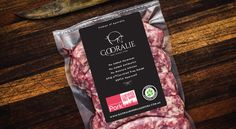 Gooralie Free Range Pork – Logo & Packaging Design on Behance Meat Box, Meat Delivery, Eat And Go, Free Range, Packaging Design, Beef, Logos, Trays, Visual Identity