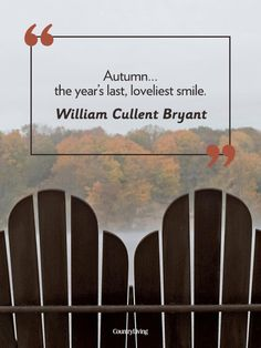Fall Quotes - Autumn Quotes - Country Living