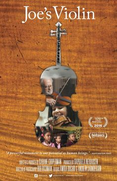 Find more movies like Joe's Violin to watch, Latest Joe's Violin Trailer, A Holocaust survivor donates his violin to an instrument drive, changing the life of a schoolgirl from the Bronx and unexpectedly, his own. Jewish Film Festival, Film Big, The Power Of Music, Best Documentaries, Lessons For Kids, 12 Year Old, Documentary Film, Violin
