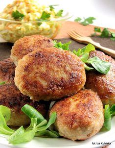 Smaczna Pyza: Kotlety mielone , mieleńce Polish Recipes, Polish Food, Atkins Diet, Other Recipes, Salmon Burgers, Pork, Cooking Recipes, Dishes, Chicken