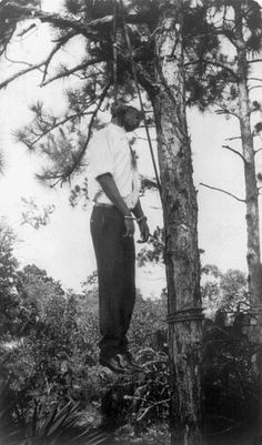 Lynched African American man hanging from tree in the United States, 1928 - Lynching in the United States 18 Best of Web Shrine